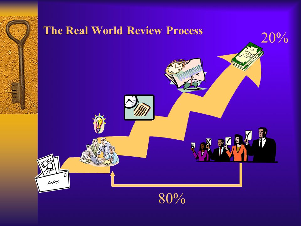 The Real World Review Process LOI 80% 20%
