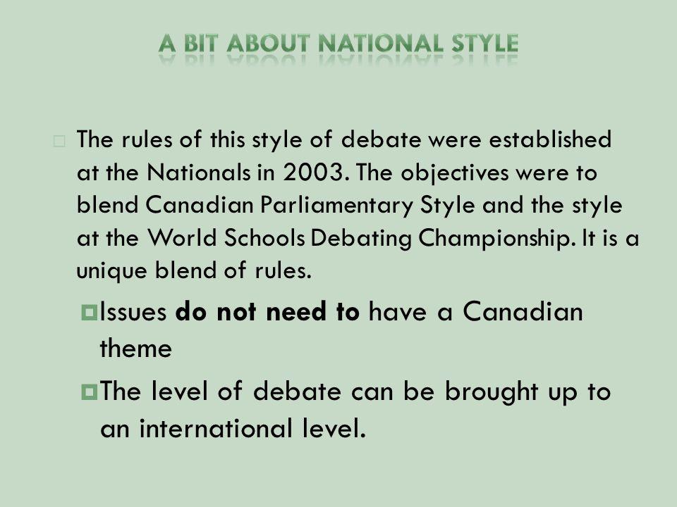Understanding the proceedings of the debate is key to understanding how to judge the debate.