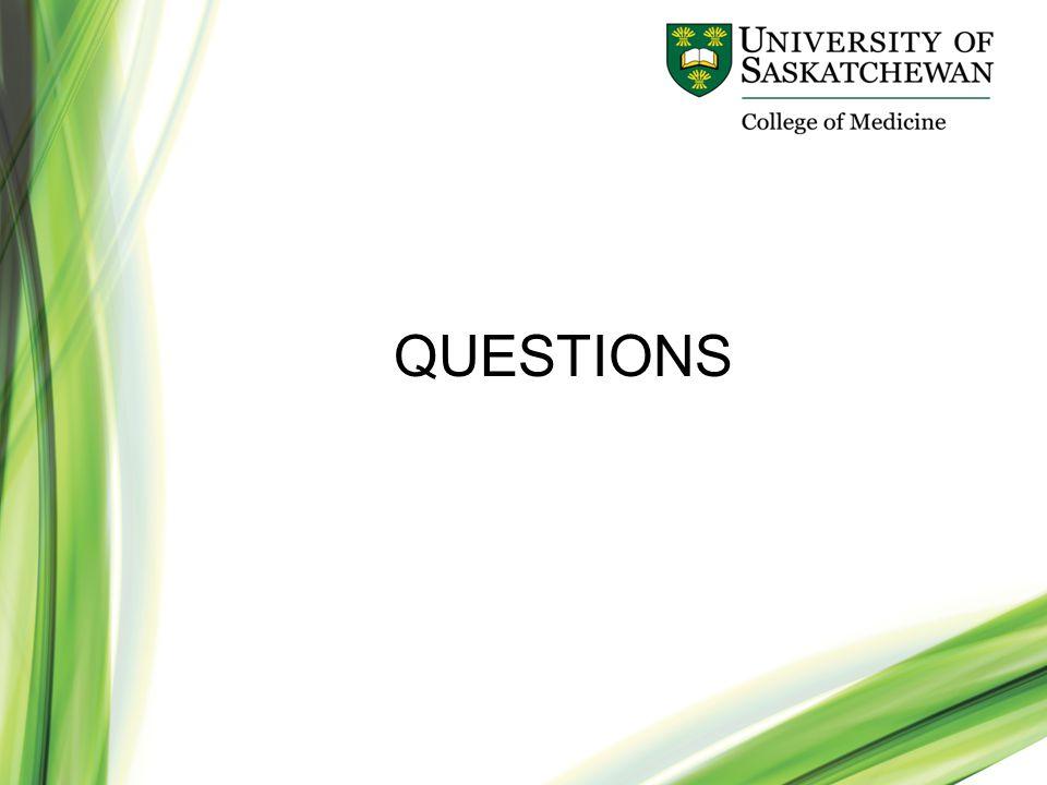 www.usask.ca/medicine QUESTIONS