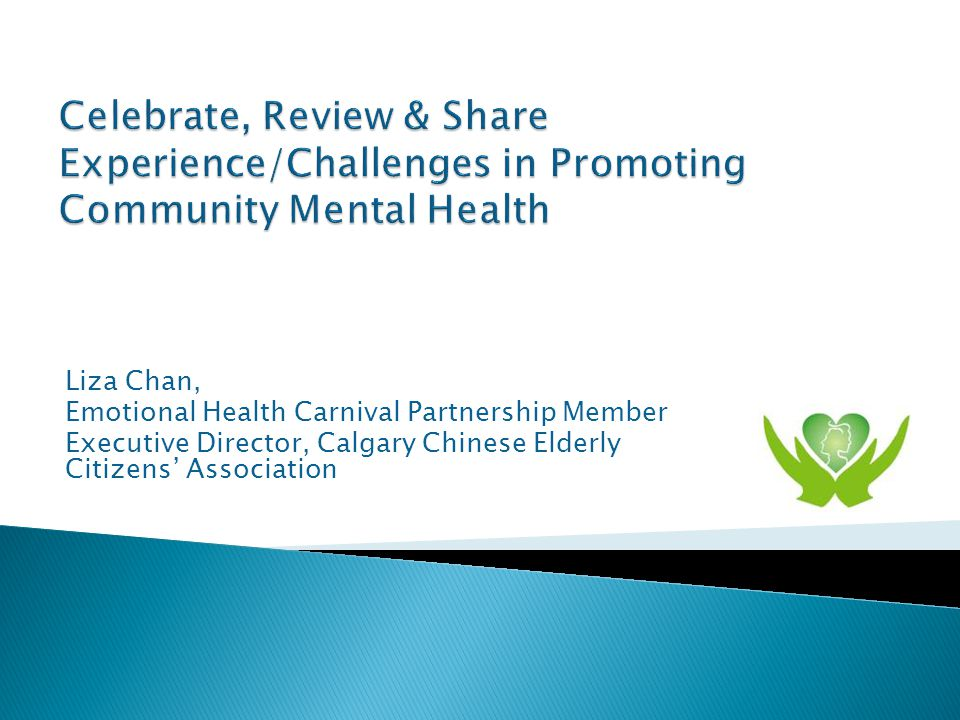 Liza Chan, Emotional Health Carnival Partnership Member Executive Director, Calgary Chinese Elderly Citizens' Association