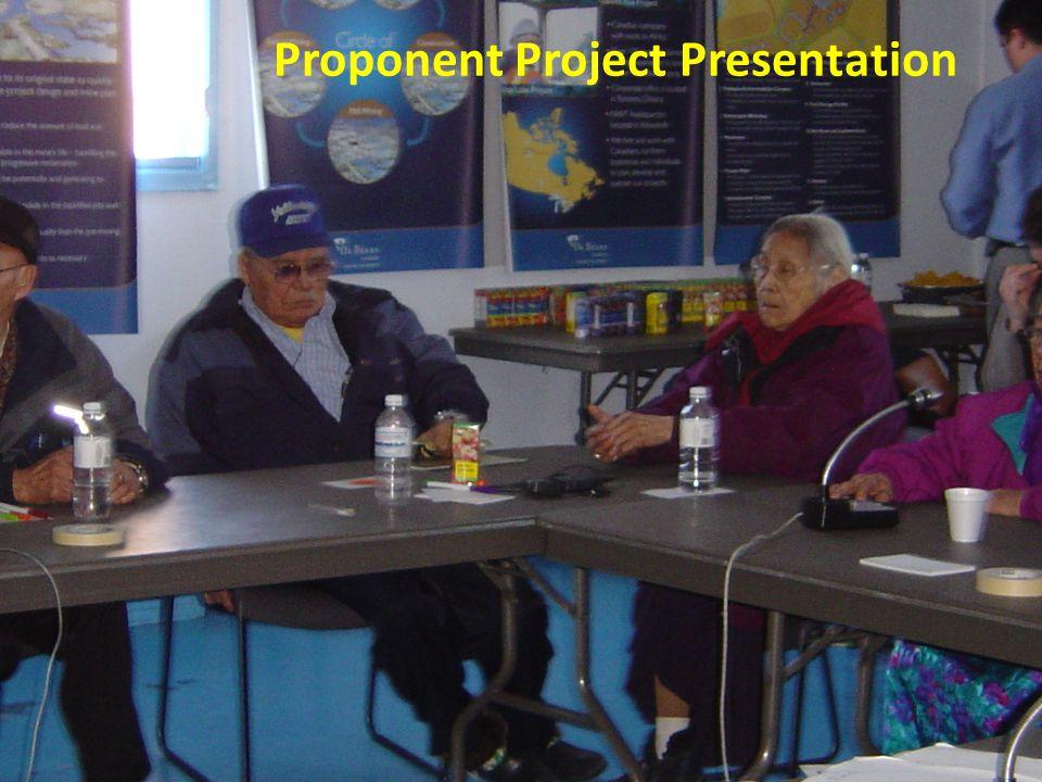 Proponent Project Presentation
