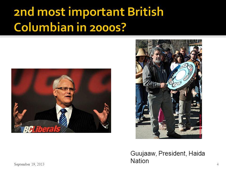 4 Guujaaw, President, Haida Nation
