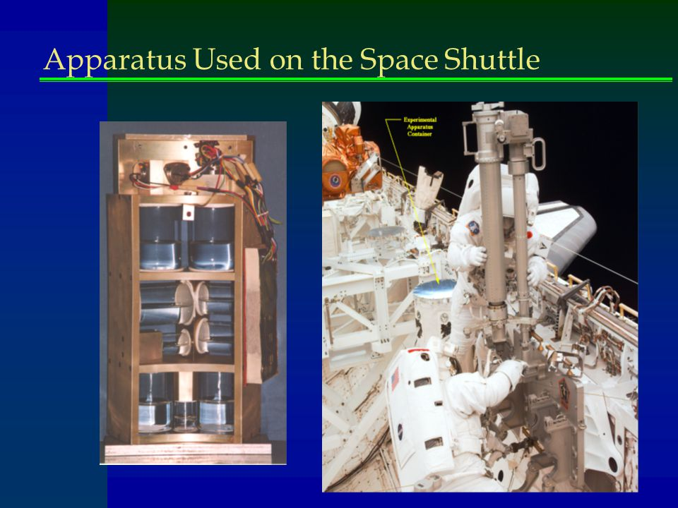 Apparatus Used on the Space Shuttle
