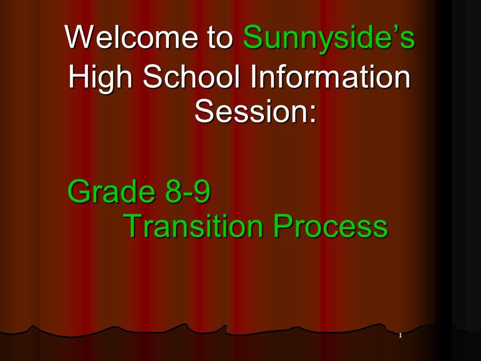 2 High School Cameron Heights IB Information: Tues.