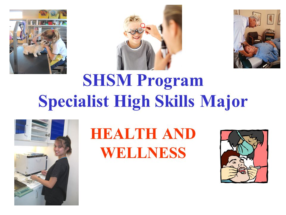 The SHSM is a Ministry approved program offered to grade 10 students going into grade 11 This program is open to all workplace, college and university bound students.