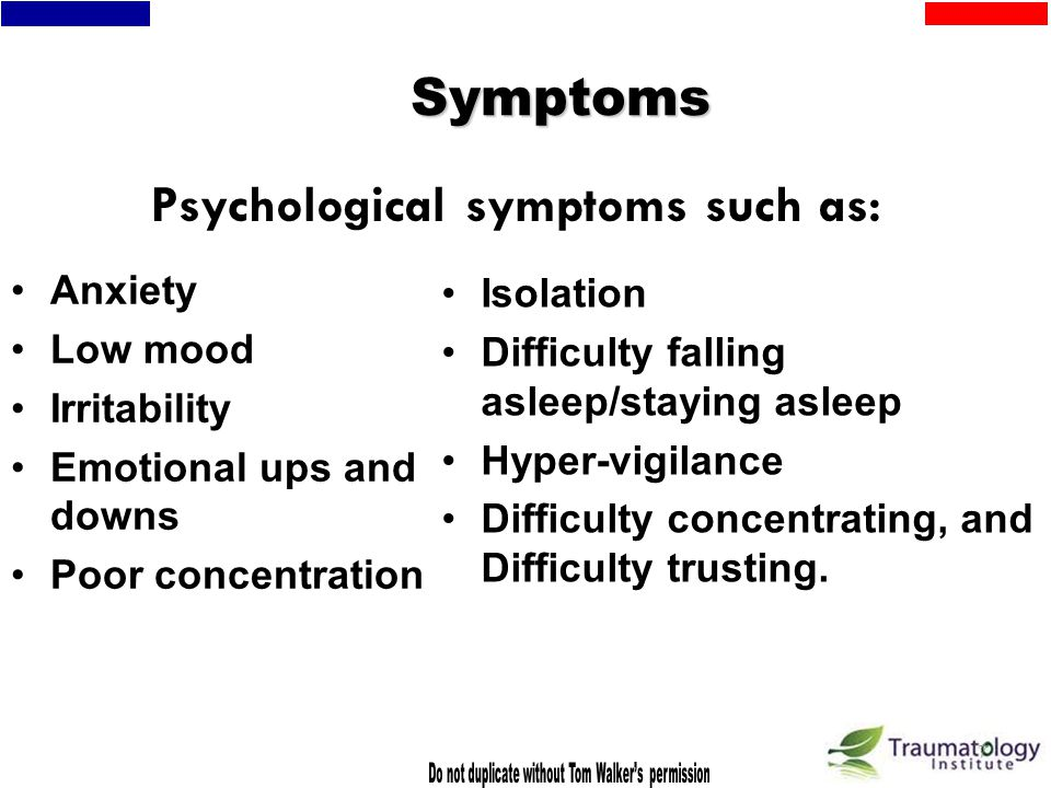 6 Trauma and Dysregulation Early trauma leads to affect dysregulation due to excess stimulation of Central Nervous System (CNS). Youth have problems l