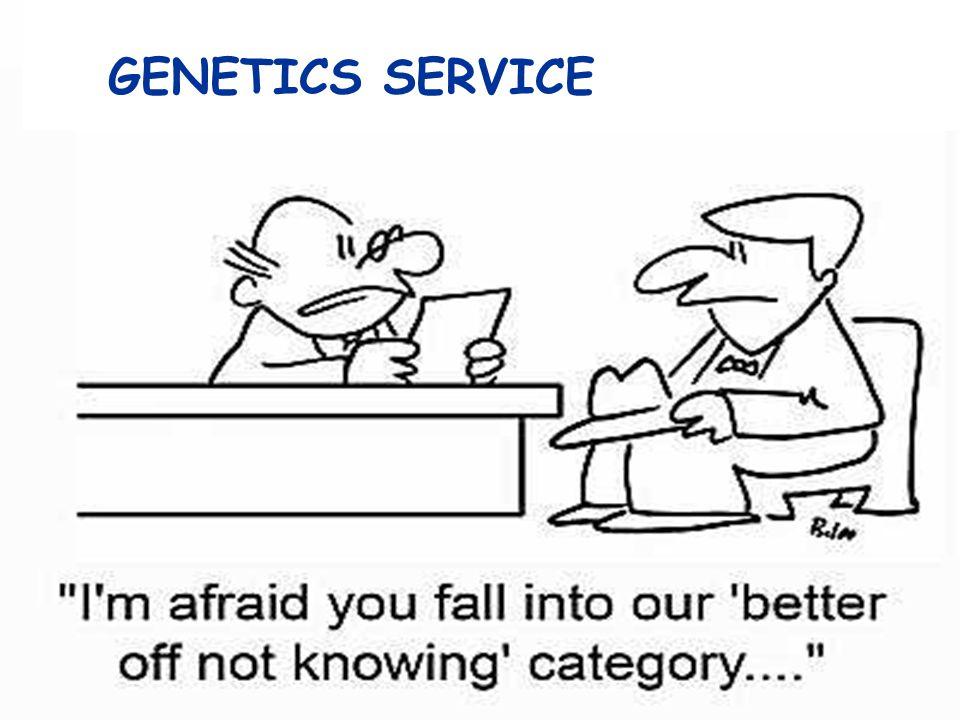 GENETICS SERVICE