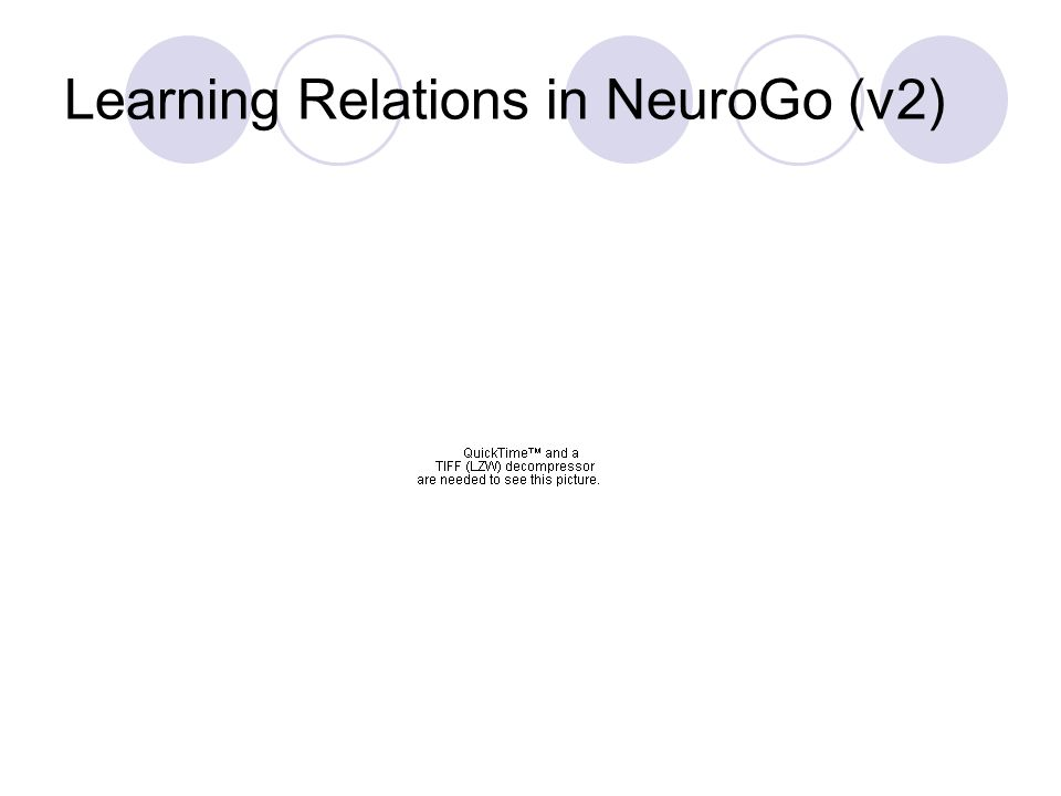 Learning Relations in NeuroGo (v2)