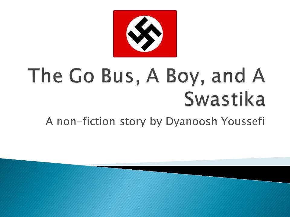 A non-fiction story by Dyanoosh Youssefi