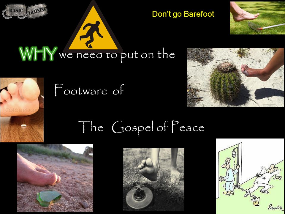 Don't go Barefoot