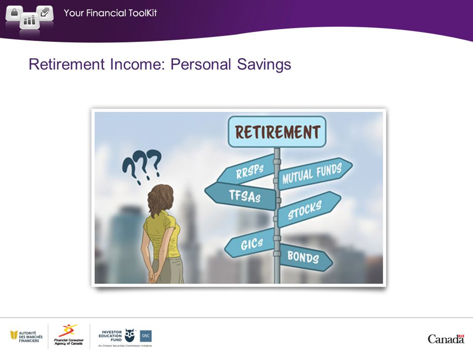 Retirement Income: Personal Savings