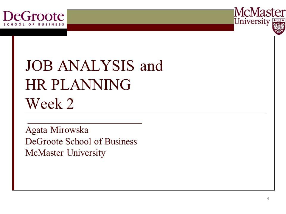 12 Existing JA Methods(Instruments)  Functional Job Analysis (FJA)  Position Analysis Questionnaire (PAQ)  Critical Incident Technique (CIT)