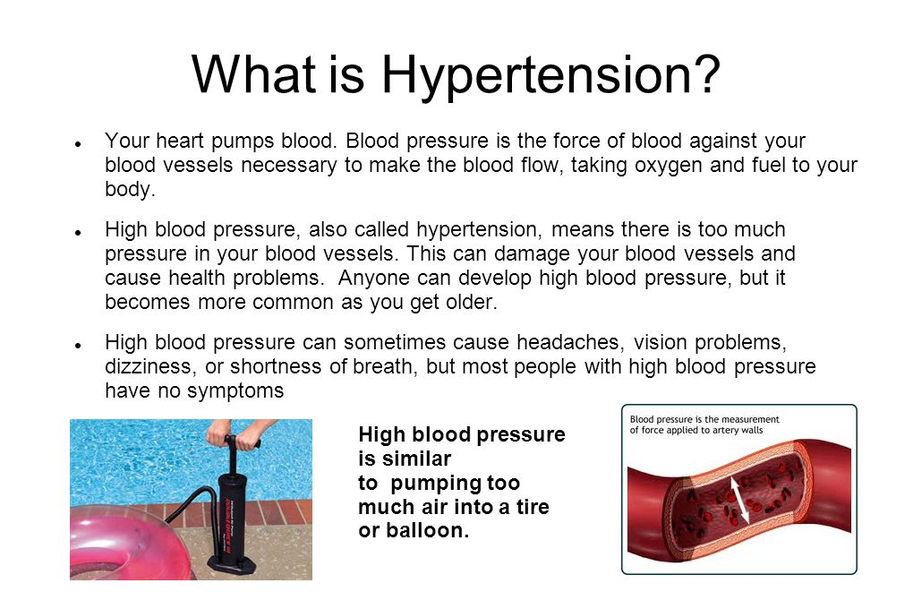 Medical Treatment for Blood Pressure  Your doctor will decide which medication you need to control your blood pressure.