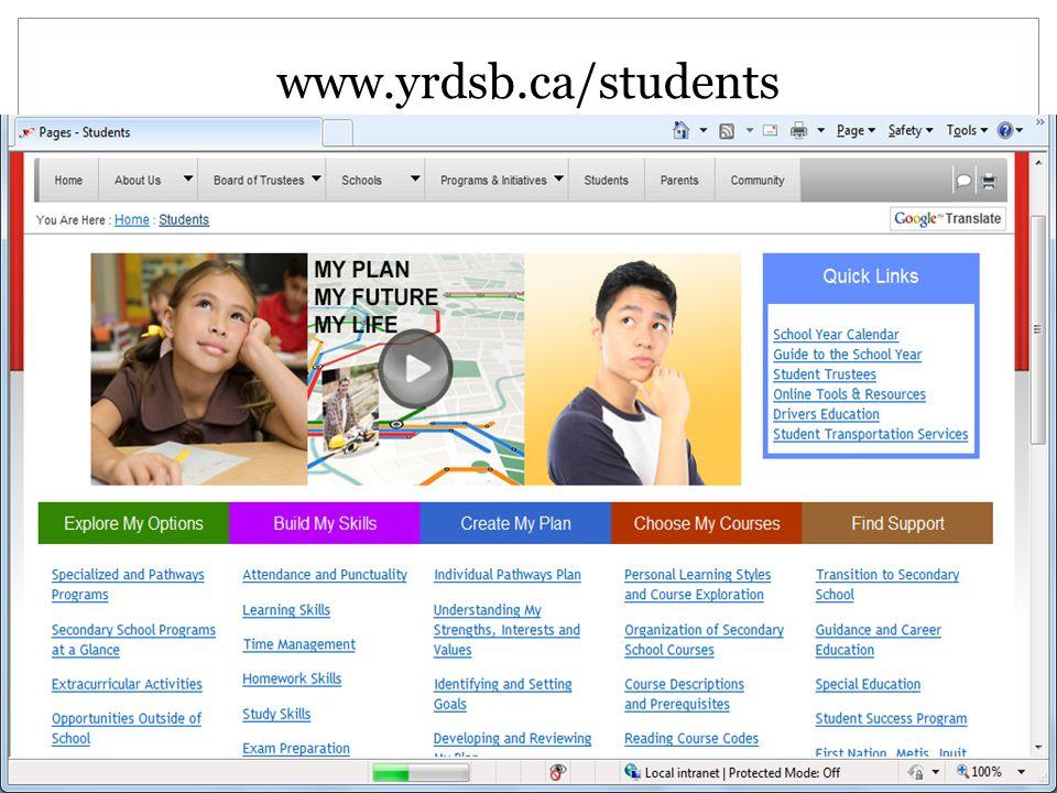 www.yrdsb.ca/students
