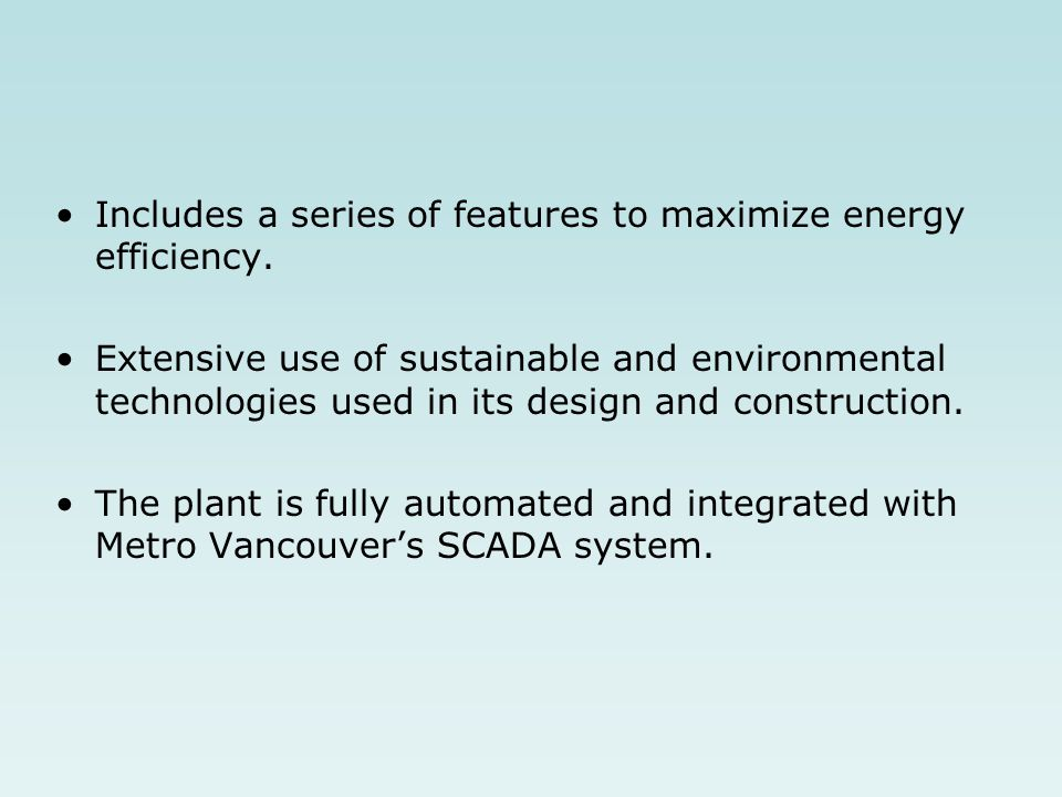 Includes a series of features to maximize energy efficiency. Extensive use of sustainable and environmental technologies used in its design and constr
