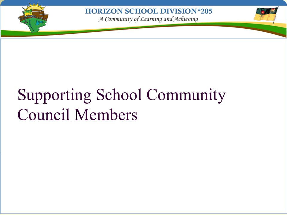 Supporting School Community Council Members