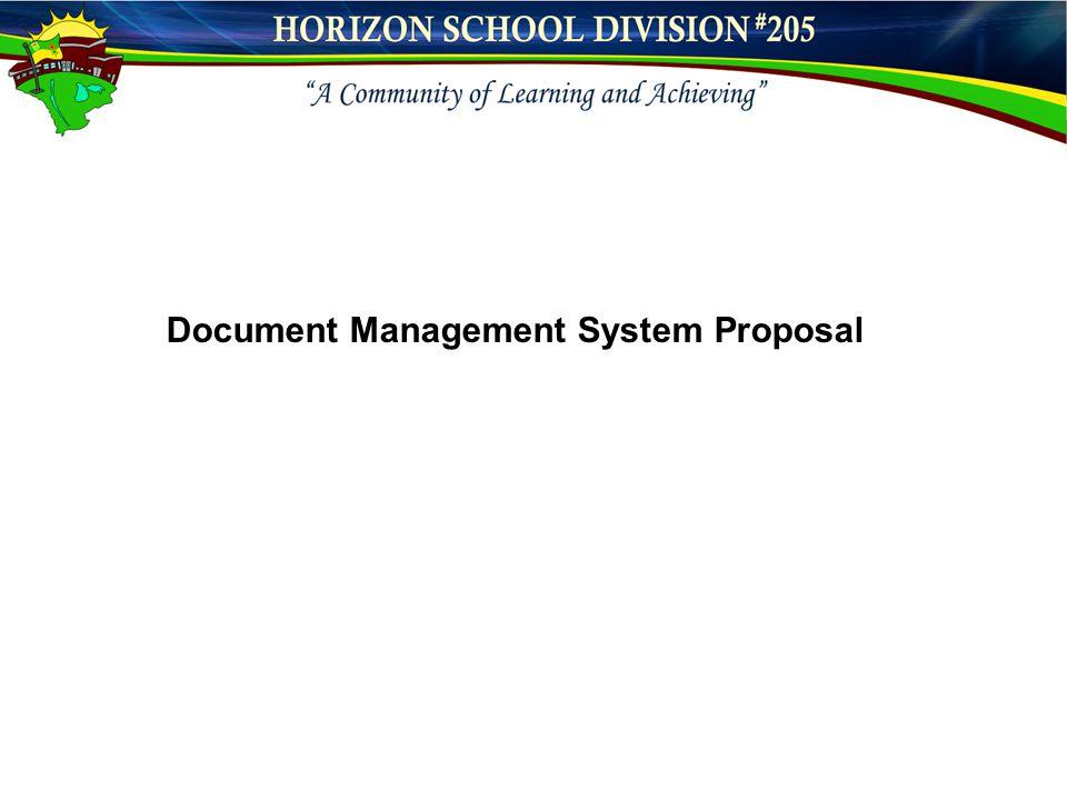 Document Management System Proposal