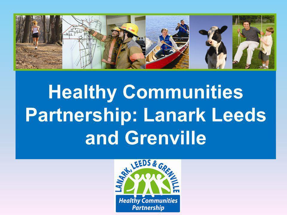 Healthy Communities Partnership: Lanark Leeds and Grenville