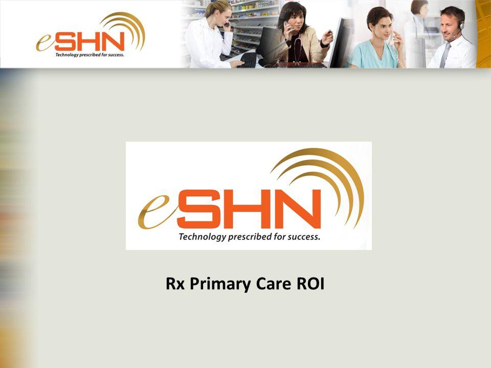 Rx Primary Care ROI