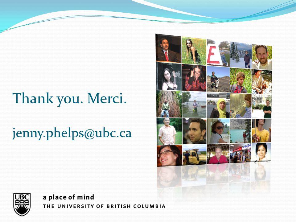 Thank you. Merci. jenny.phelps@ubc.ca