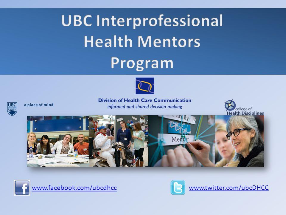 www.facebook.com/ubcdhcc www.twitter.com/ubcDHCC