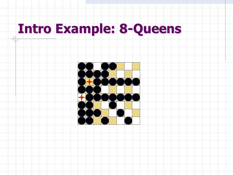 Intro Example: 8-Queens