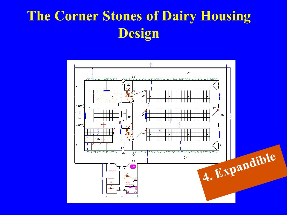 The Corner Stones of Dairy Housing Design 4. Expandible