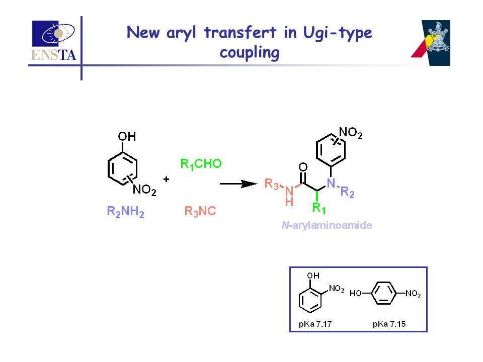 New aryl transfert in Ugi-type coupling