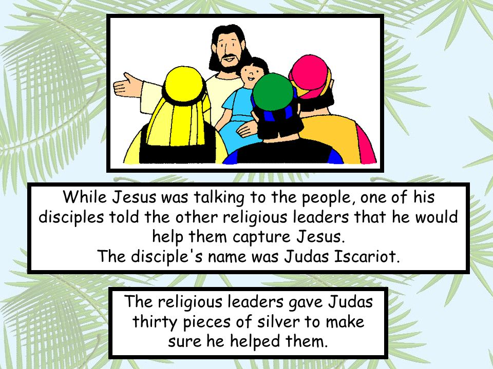 Jesus knew he was going to die so on Thursday evening he shared a special meal with his friends.