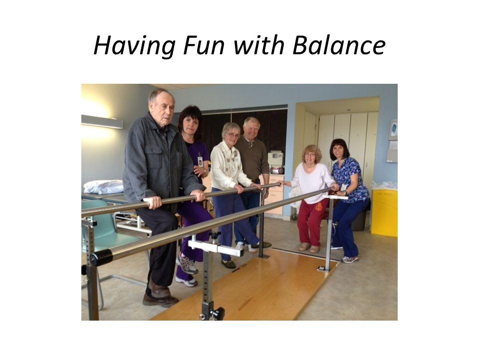 Having Fun with Balance