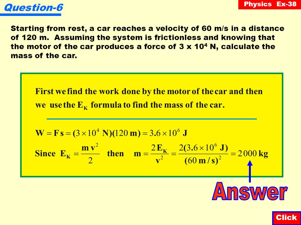 Physics Ex-38 Question-5 A projectile, whose mass is 800 g, is shot into the air with a velocity of 25 m/s, 42 o N of E.