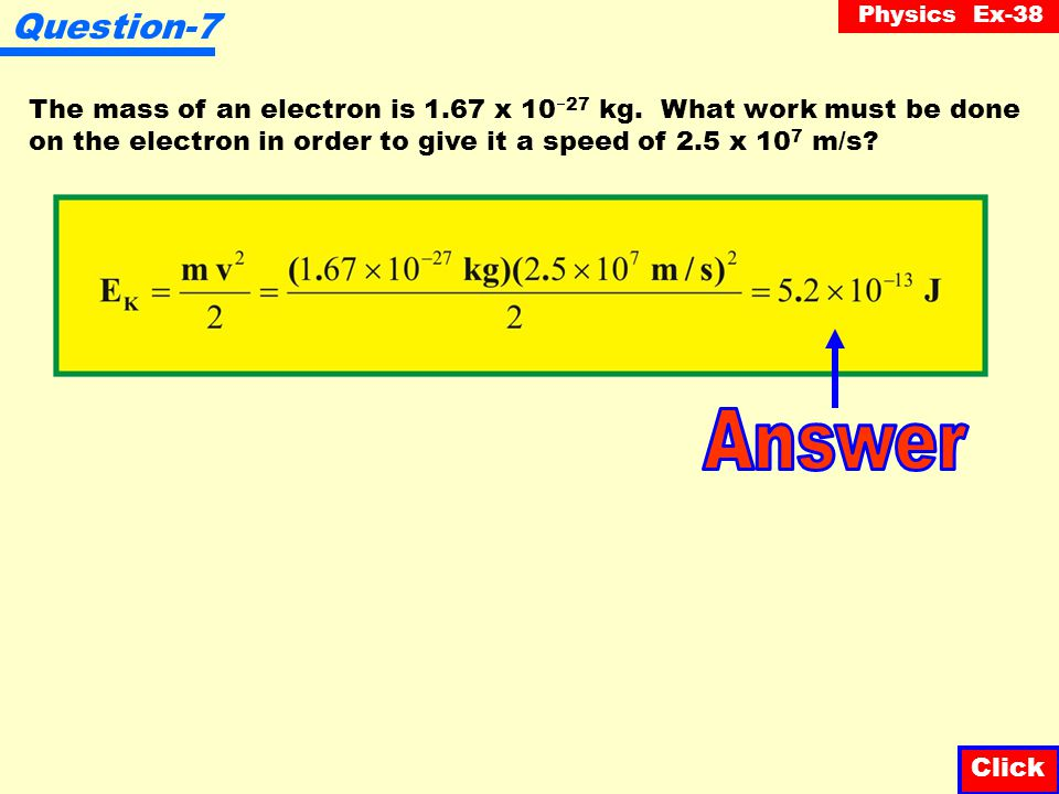 Physics Ex-38 Question-6 Starting from rest, a car reaches a velocity of 60 m/s in a distance of 120 m. Assuming the system is frictionless and knowin