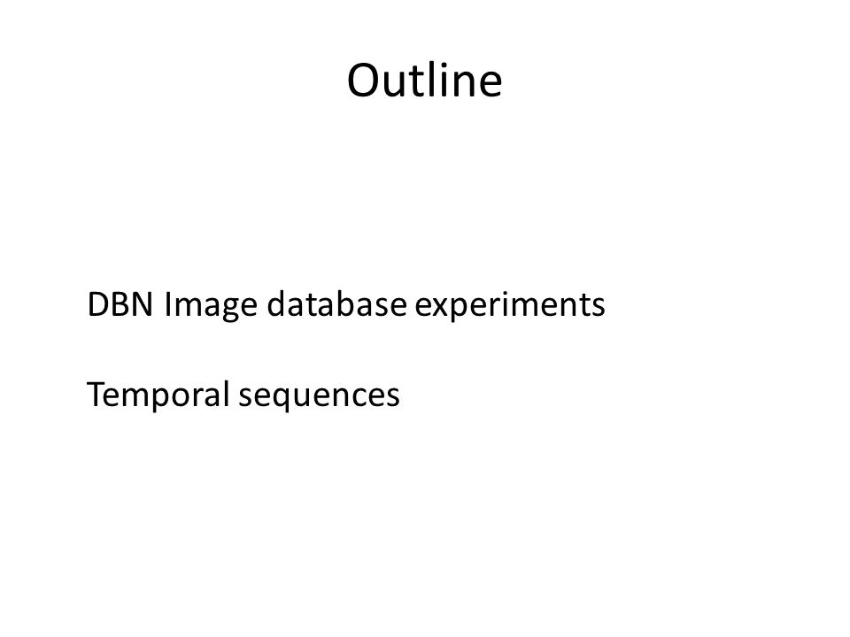 4) Sequences of variable length VISIONRESEARCH time