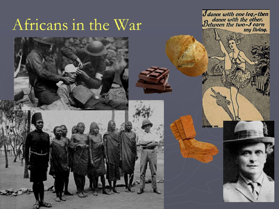 Africans in the War