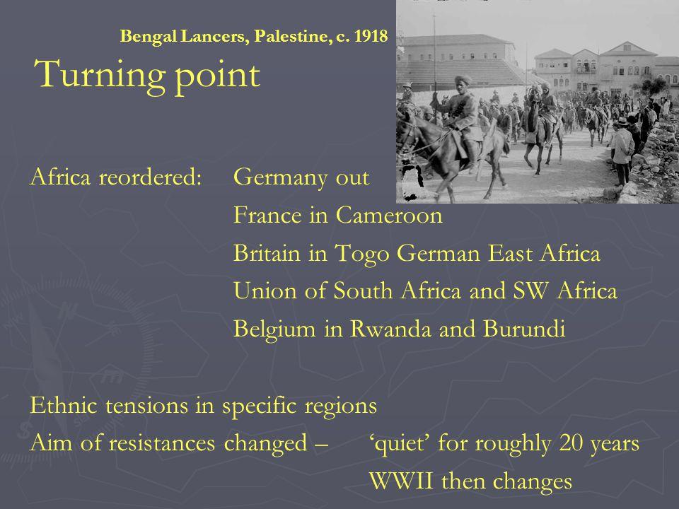 Bengal Lancers, Palestine, c.