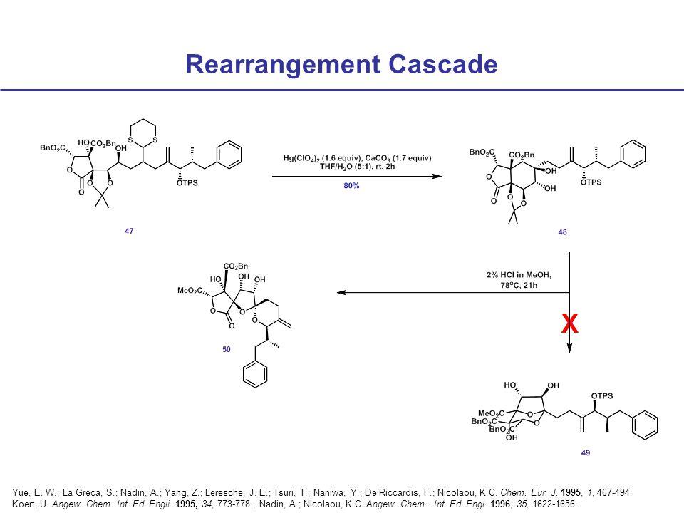 Rearrangement Cascade Yue, E. W.; La Greca, S.; Nadin, A.; Yang, Z.; Leresche, J.