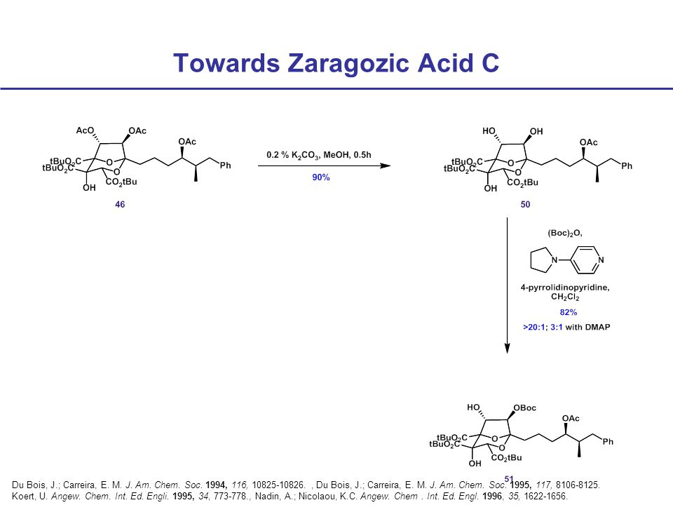 Towards Zaragozic Acid C Du Bois, J.; Carreira, E.