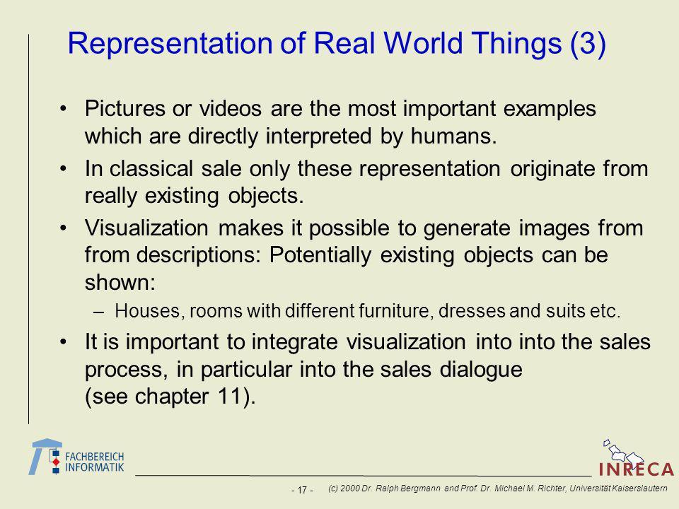 - 17 - (c) 2000 Dr. Ralph Bergmann and Prof. Dr.