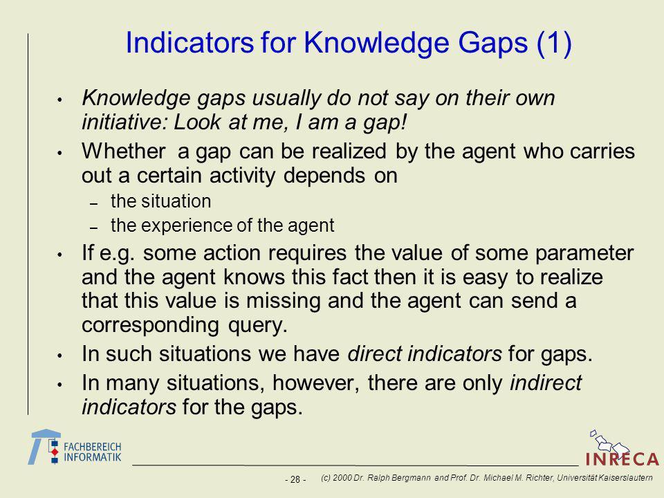 - 28 - (c) 2000 Dr. Ralph Bergmann and Prof. Dr.
