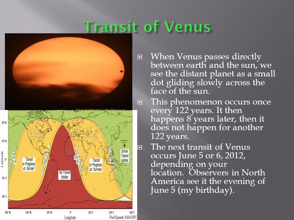  Venus is the only planet named for a female, and every geological feature on Venus is also named for a female.
