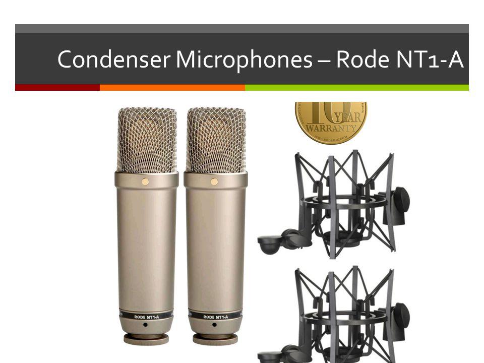 Condenser Microphones – Rode NT1-A