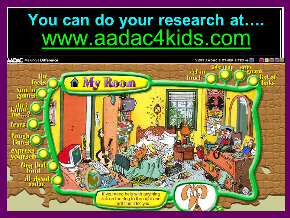 You can do your research at….