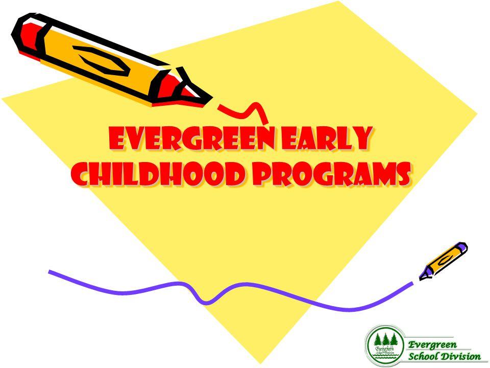 Evergreen Early childhood programs