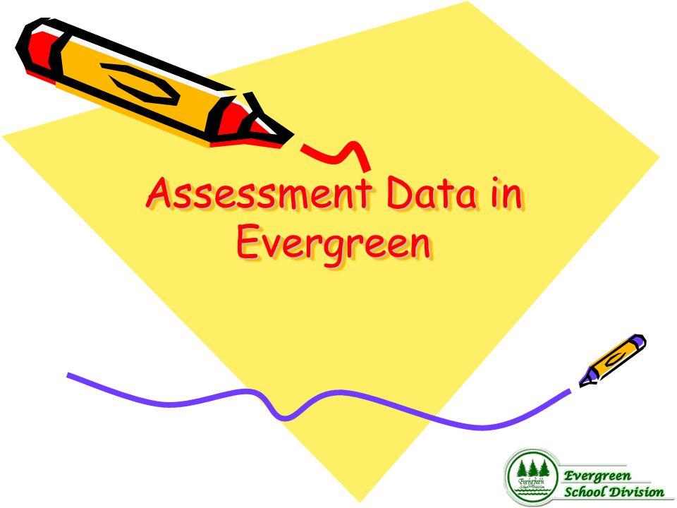 Assessment Data in Evergreen
