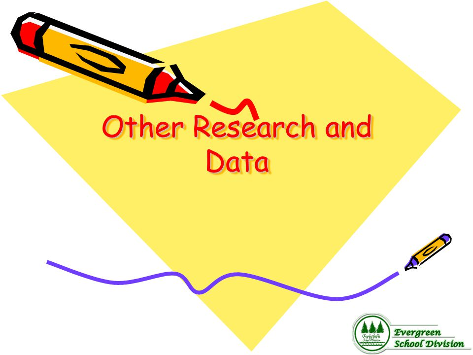 Other Research and Data