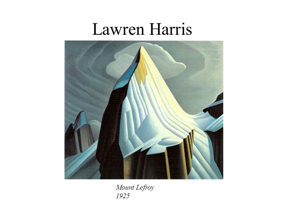 Lawren Harris Mount Lefroy 1925