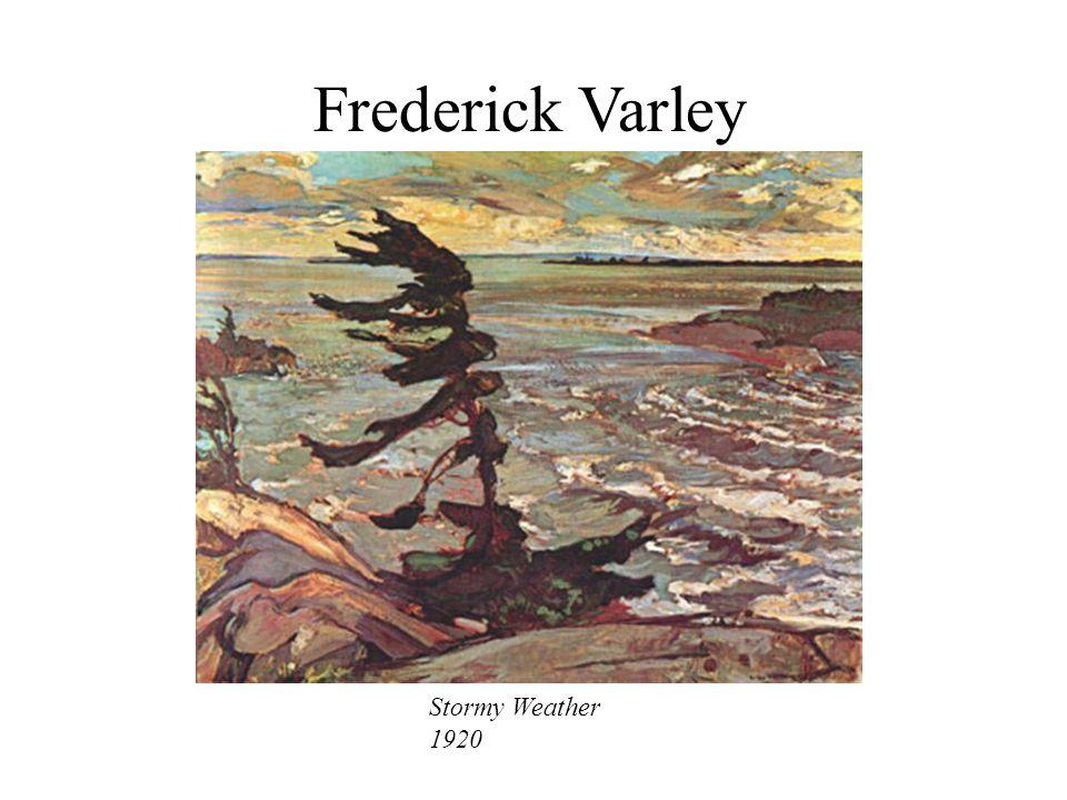 Frederick Varley Stormy Weather 1920