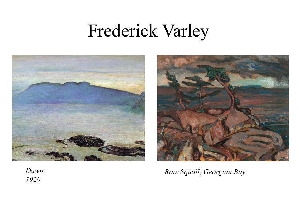 Frederick Varley Dawn 1929 Rain Squall, Georgian Bay
