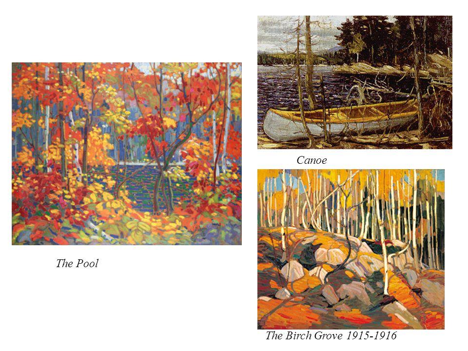 Canoe The Birch Grove 1915-1916 The Pool
