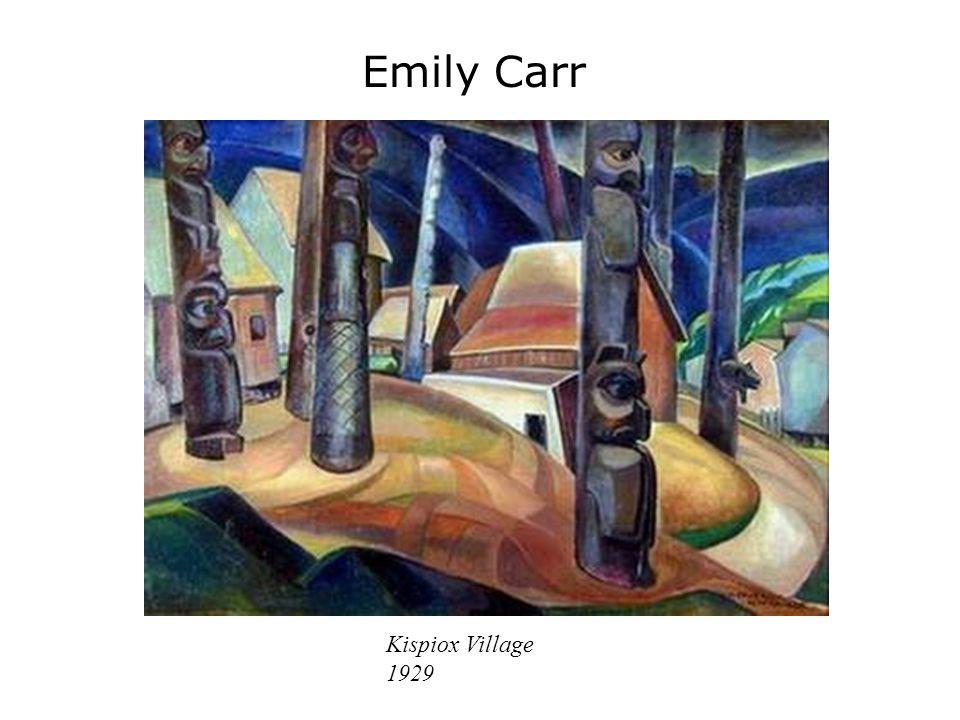 Emily Carr Kispiox Village 1929